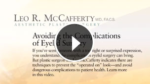 Avoid Complications from Blepharoplasty