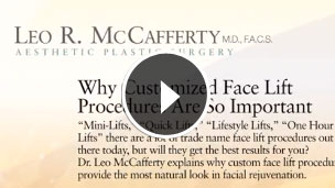 Customized Face Lift Procedures